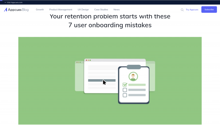 Your retention problem starts with these 7 user onboarding mistakes