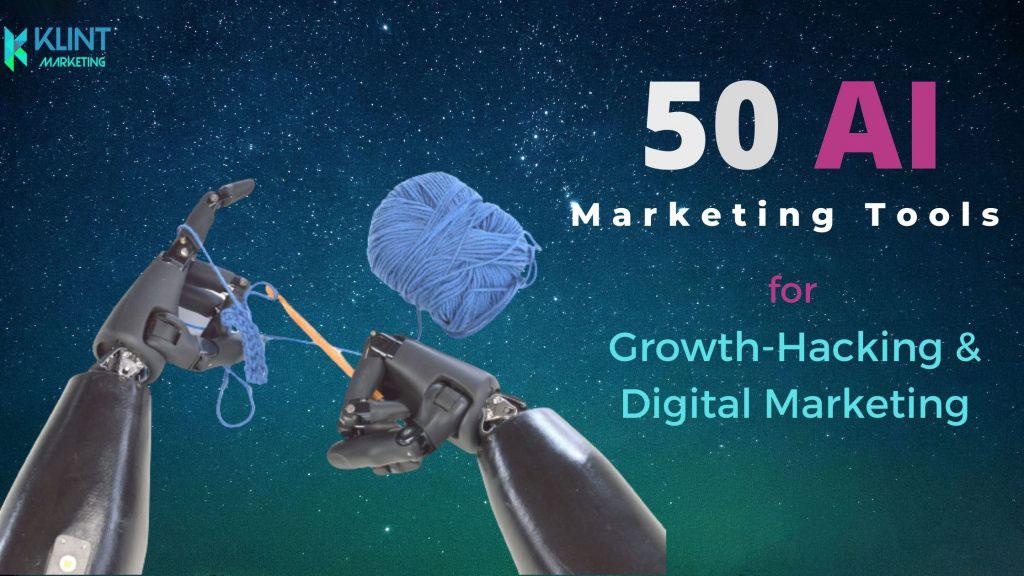 50 AI Marketing Tools