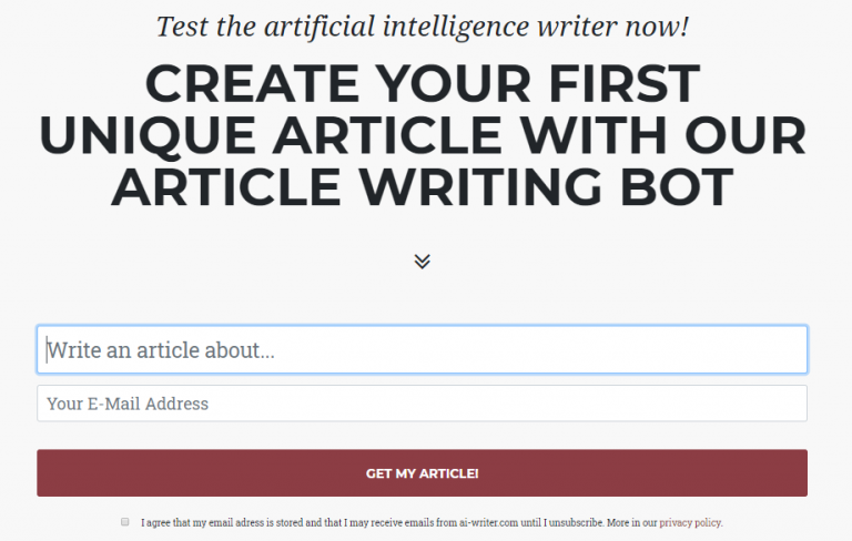 Test AI Writer