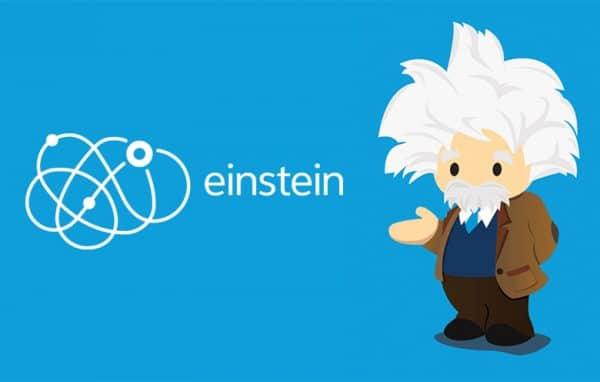 EINSTEIN salesforce logo