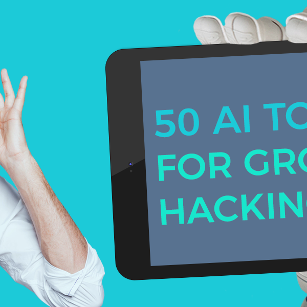 50 AI Tools for growth hacking feature image