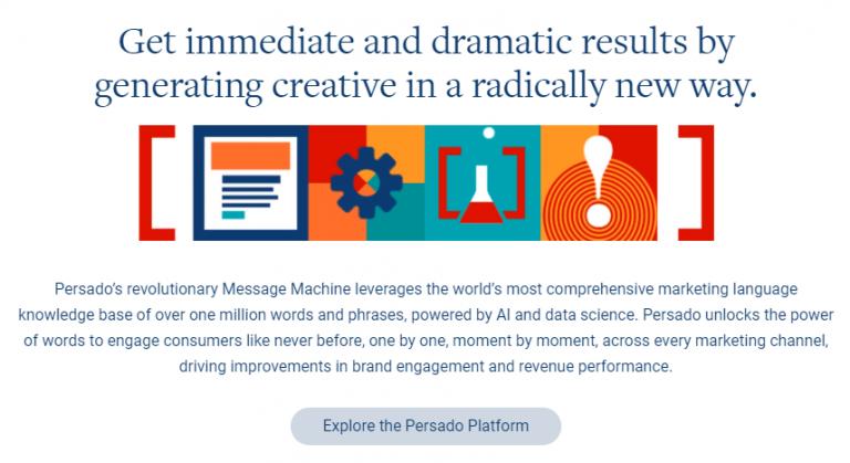 Explore Persado's AI Platform
