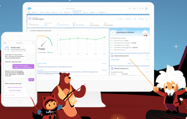Salesforce Einstein Services