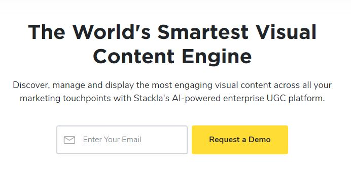 Demo for Stackla Visual Content Engine