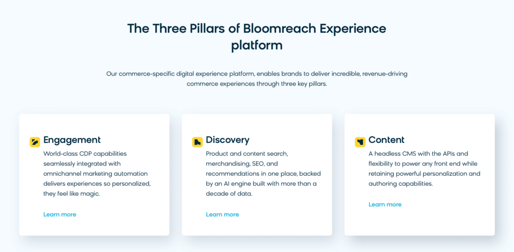 bloomreach features