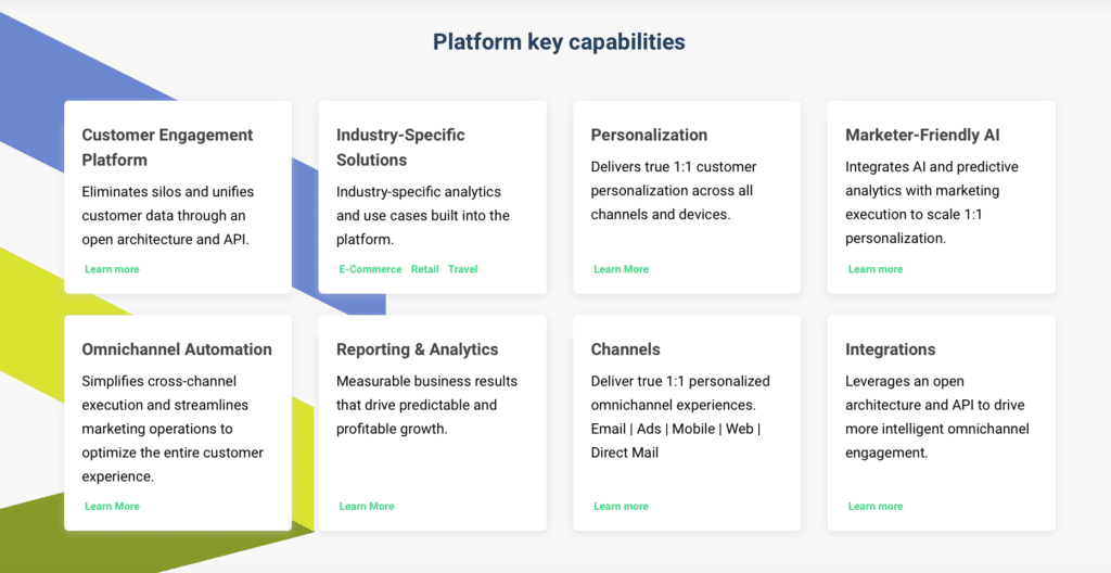 emarsys features