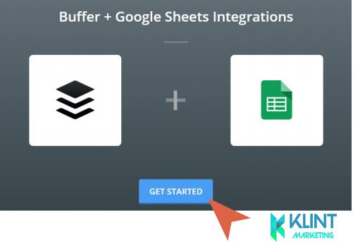buffer + google sheet integration