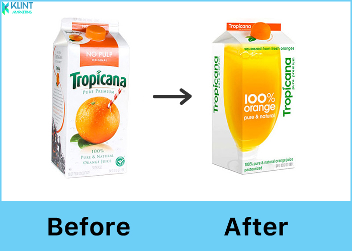 tropicana rebranding before and after