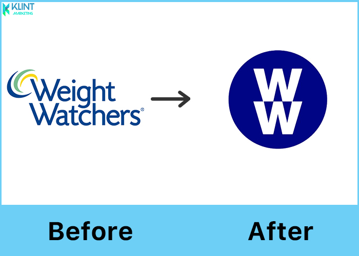 weight watchers rebranding logo before and after