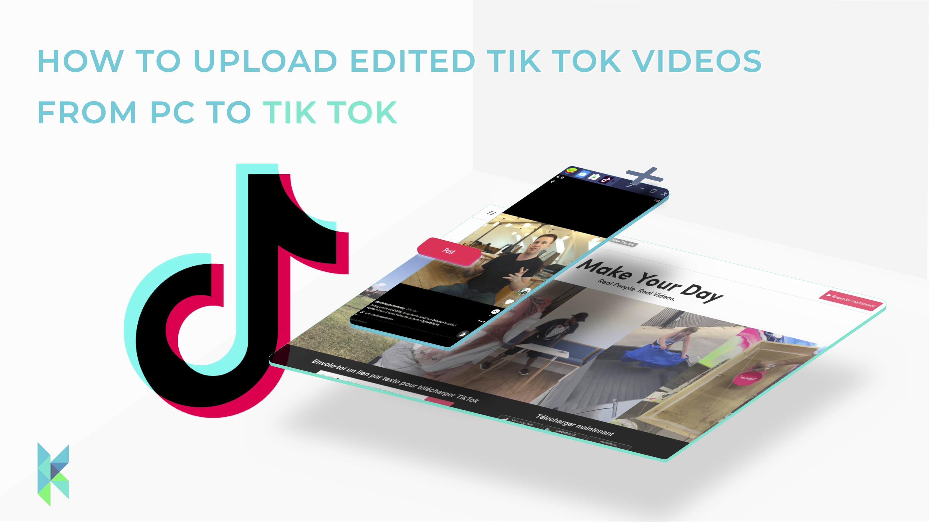 How To Upload Edited Tiktok Videos From Pc To Tiktok 2020 Update