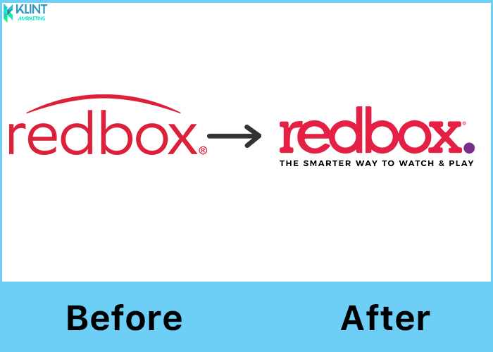redbox rebranding before and after