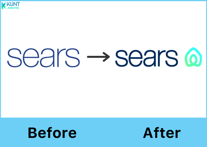 sears rebranding before and after