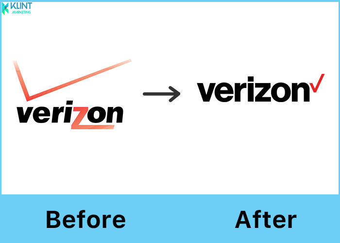 verizon rebranding before and after