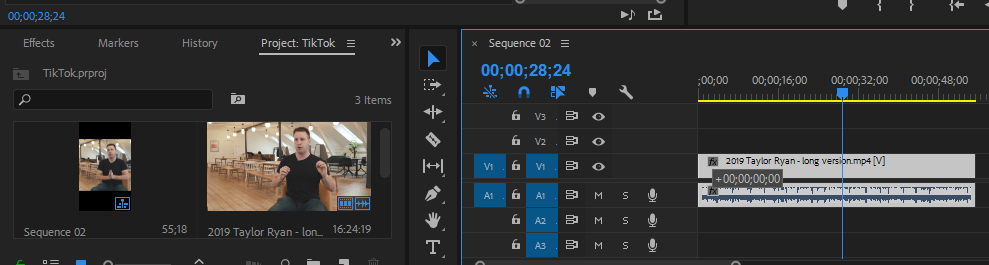 Adobe Premiere Edit Clip