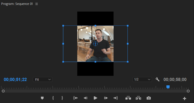 Adobe Premiere Edit clip motion