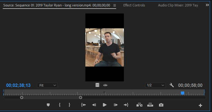 Adobe Premiere Edit Clips TikTok