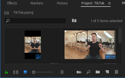 Adobe Premiere Edit Sequence Presets