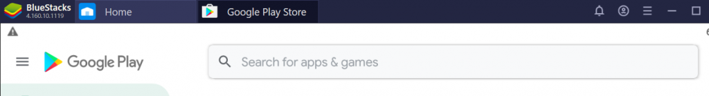 BlueStacks Google Play