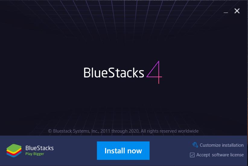 BlueStacks Screen