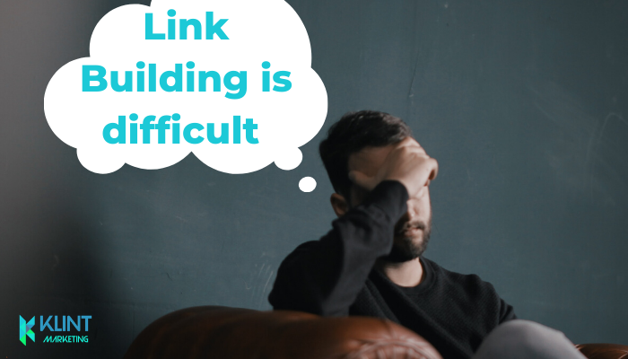 Why backlink building is so difficult