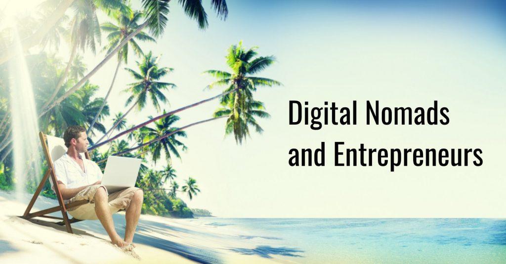 Digital Nomand and Entrepreneurs Facebook Logo