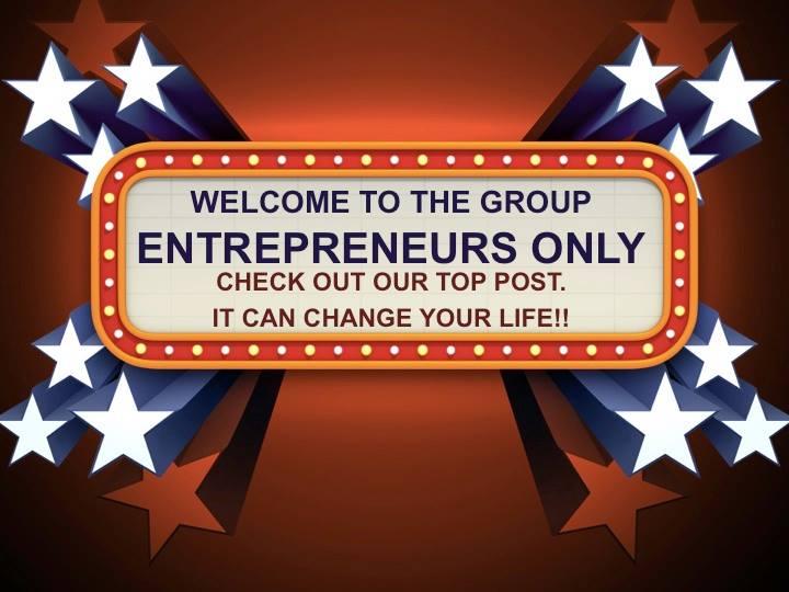 Entrepreneurs Only Facebook Group Logo