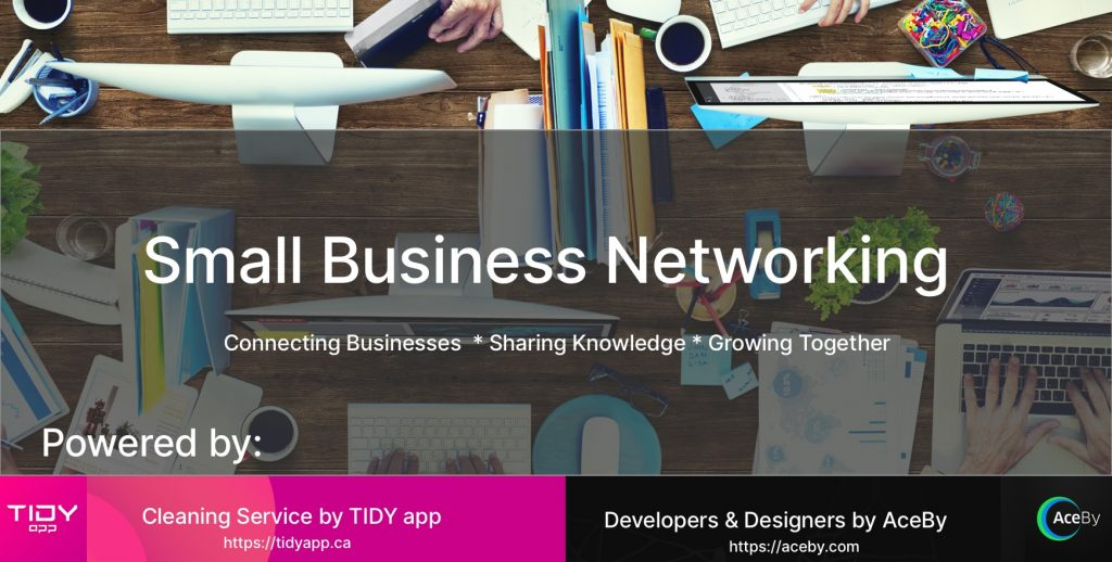 Small business Networking Facebook group Logo
