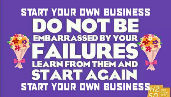 Start Your Own Business Facebook Logo