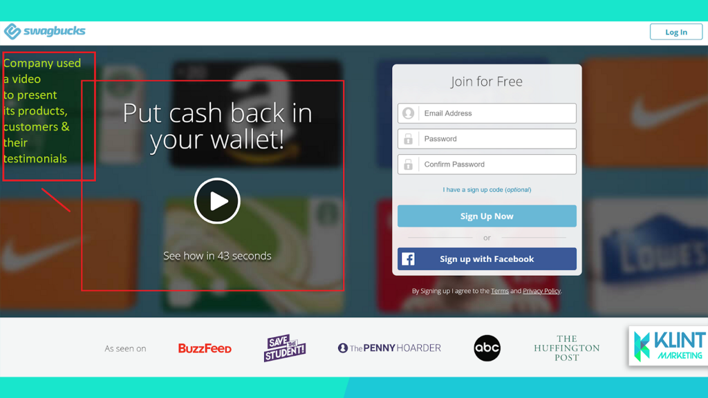 use video on your landing pages to improve view time and CTR