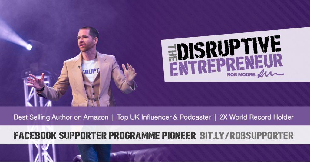 The Disruptive Entrepreneurs Facebook Logo