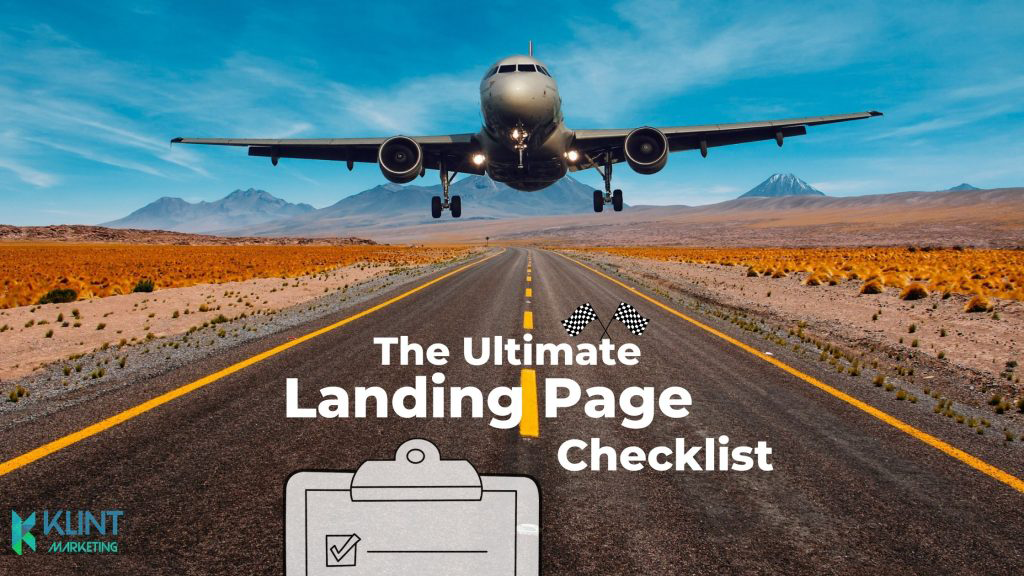 The Ultimate Landing Page Checklist [2021 update]