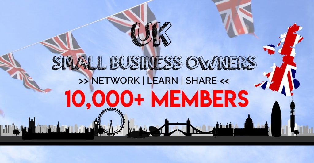 Uk Small Business Owners Facebook Logo
