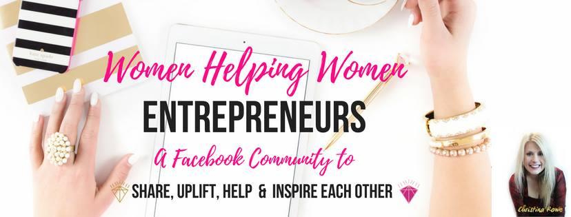 WomanEntrepreneurs Facebook Logo