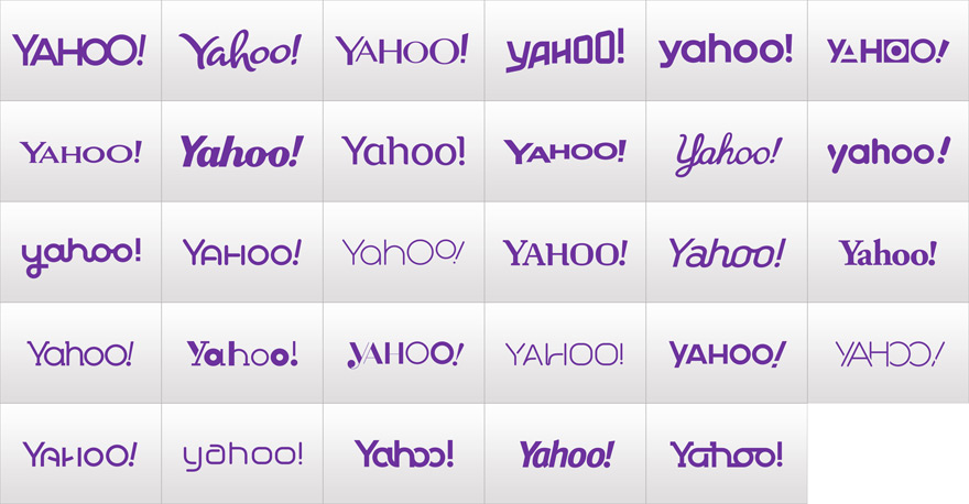yahoo logo change 30 day marketing campaign