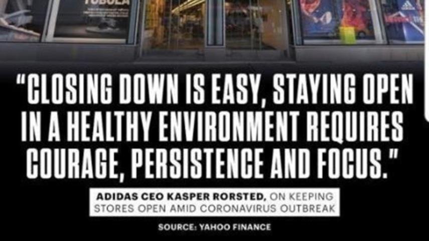 Adidas #ChangeIsATeamSport campaign