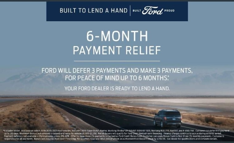 Ford's #BuiltToLendAHand campaign
