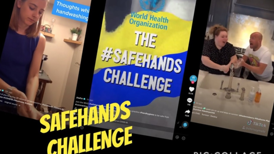 TikTok #SafeHands campaign