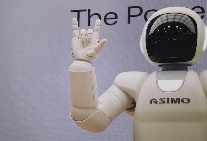 Robot asimo - artificial intelligence