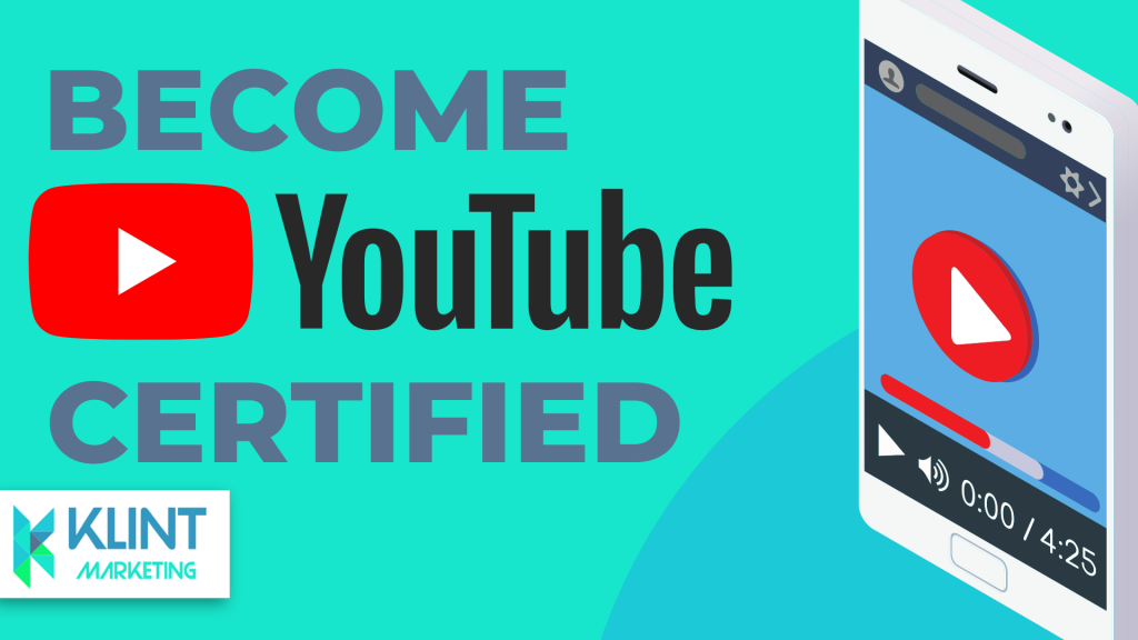 Become youtube certified