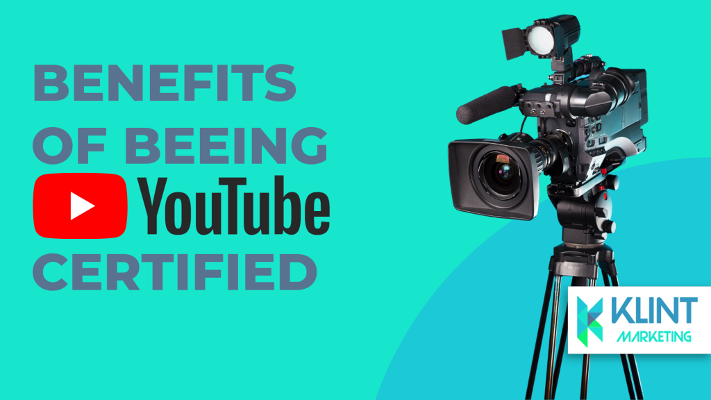 benefits of being youtube certified