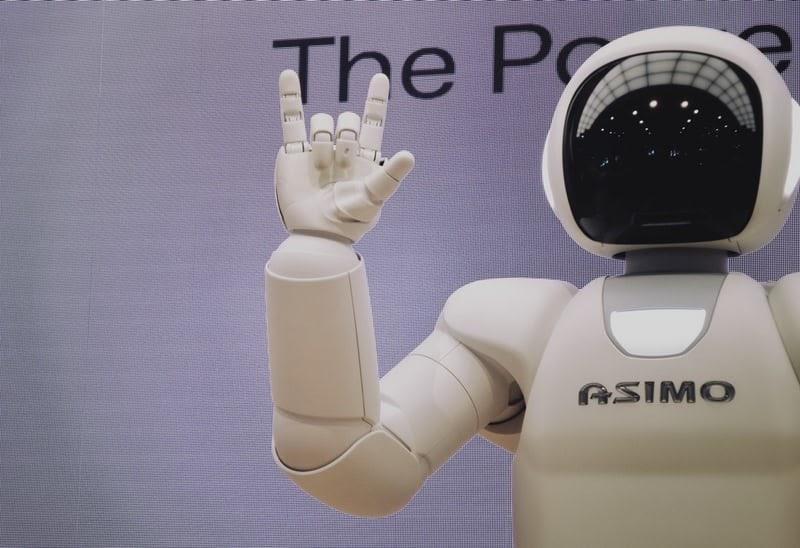 Asimo - the robot