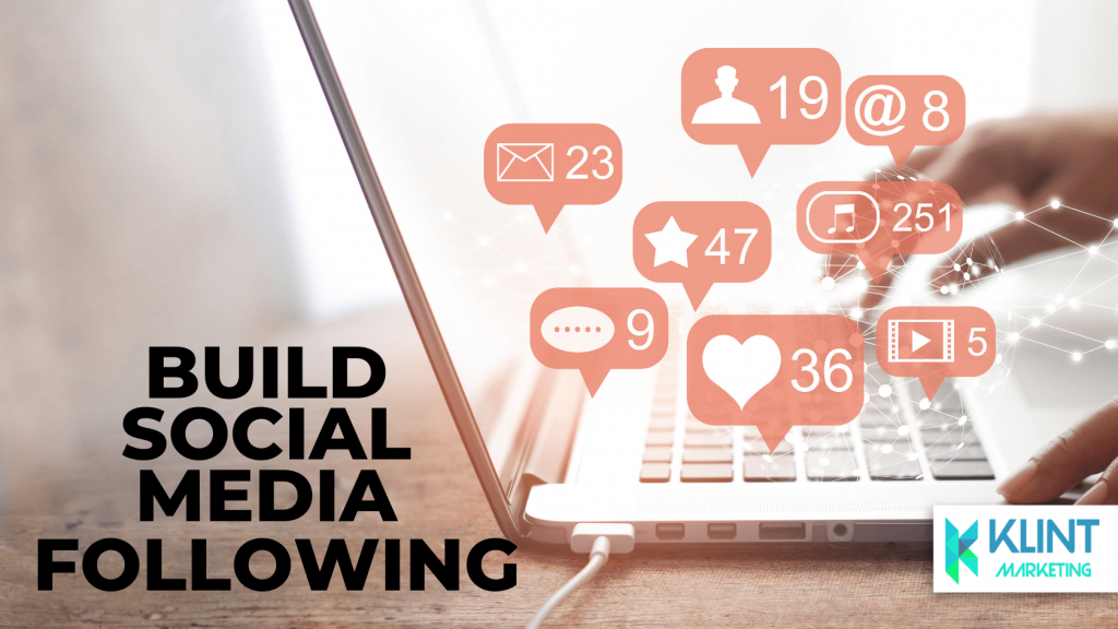 build your social media following and impact