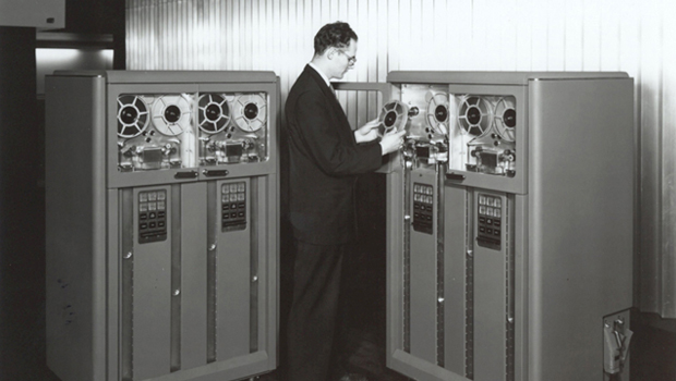 Magnetic Tape IBM. Companies started in a Recession.
