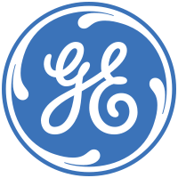 General Electric Logo. Companies started in a Recession.