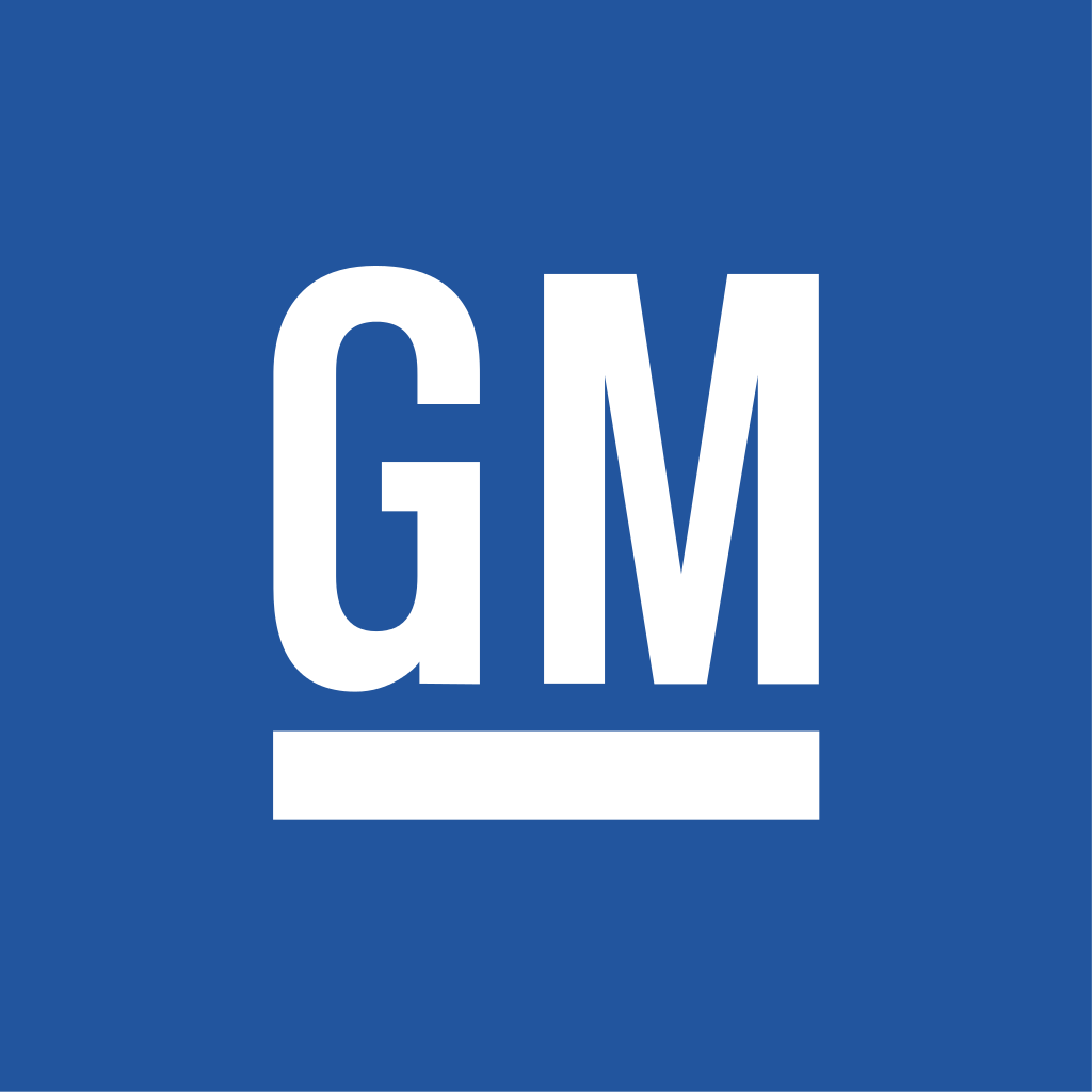General Motors Logo. Companies started in a Recession.