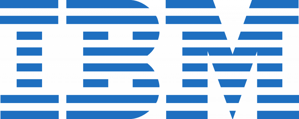 IBM Logo. Companies started in a Recession.