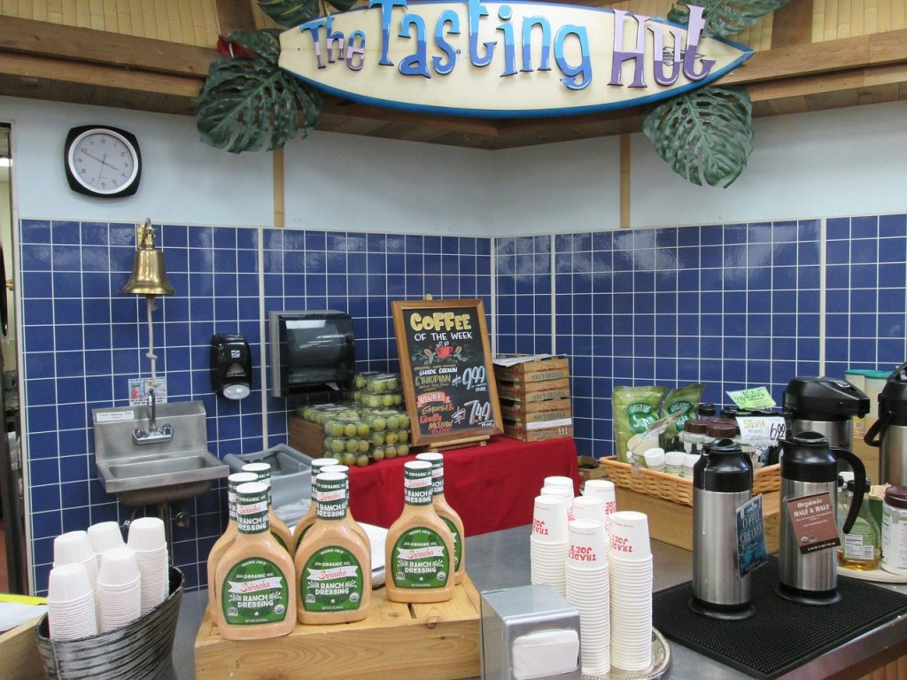 Trader Joes Tasting Hut