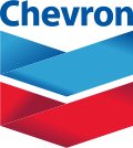 Chevron Logo. Companies started in a Recession.