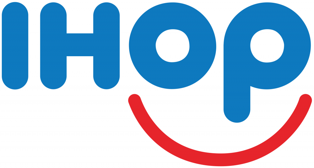 iHOP Logo. Companies started in a Recession.