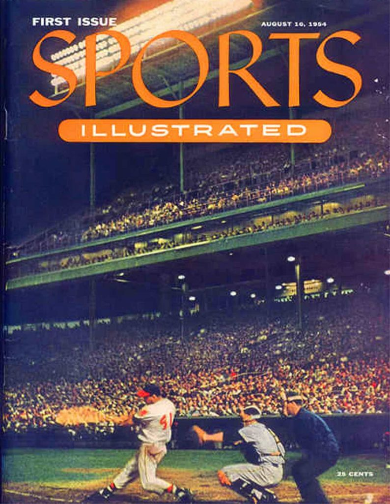 Sports Illustrated First Cover. Companies started in a Recession.